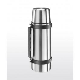 Isosteel nerezová termoska s šálkem a skládací rukojetí - 0,5 l