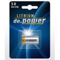 de.Power Lithiová baterie CR123